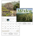 Mexico Bilingual Spiral Wall Calendars